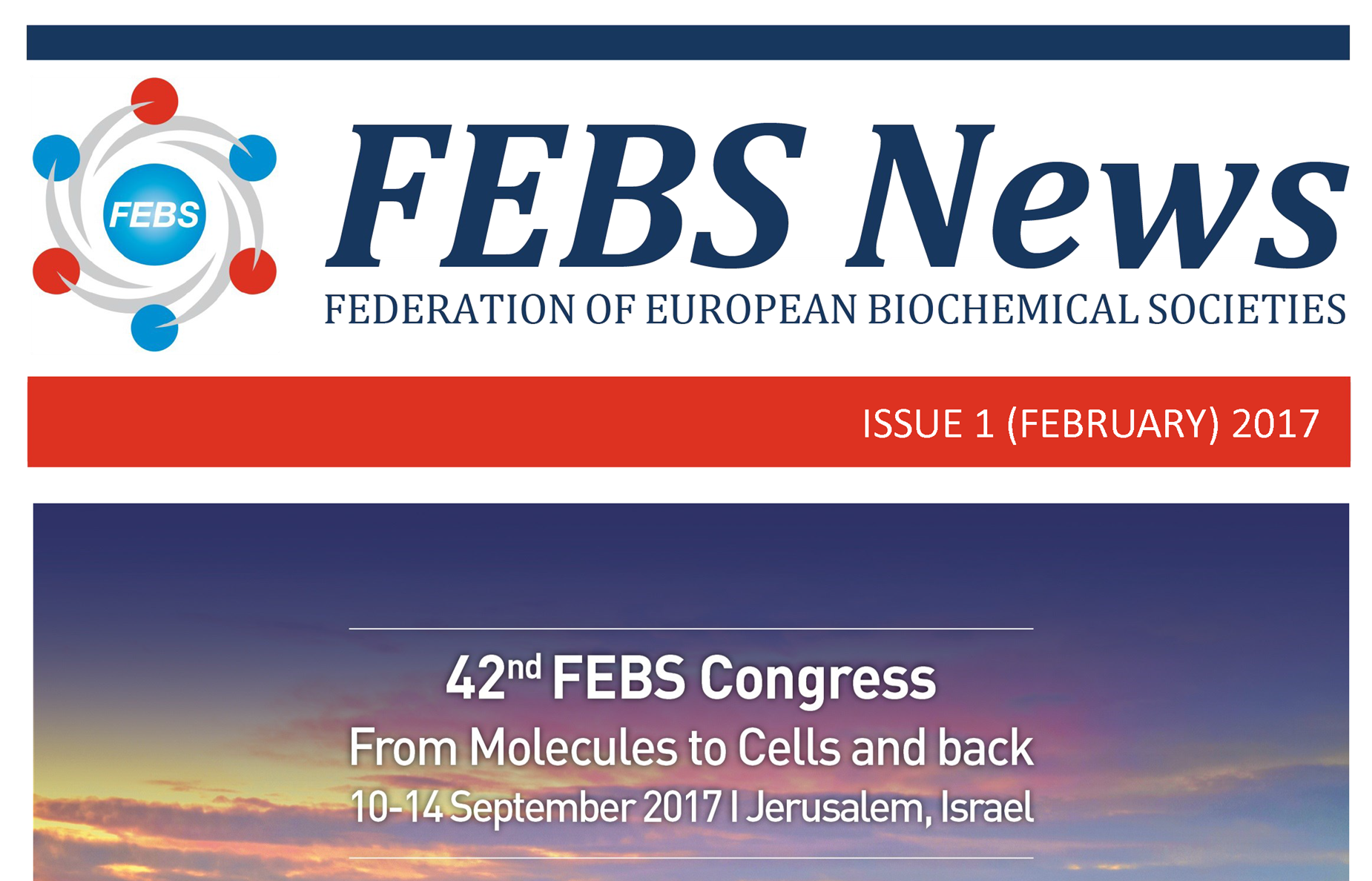 The February 2017 issue of FEBS News is out